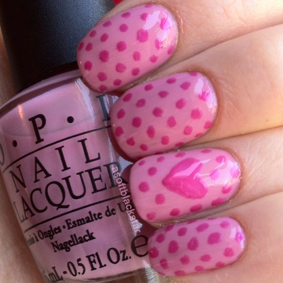 Design Nail Happy Valentine Day | Heart Nail Art: Valentines Day photo Callina Marie's photos ...