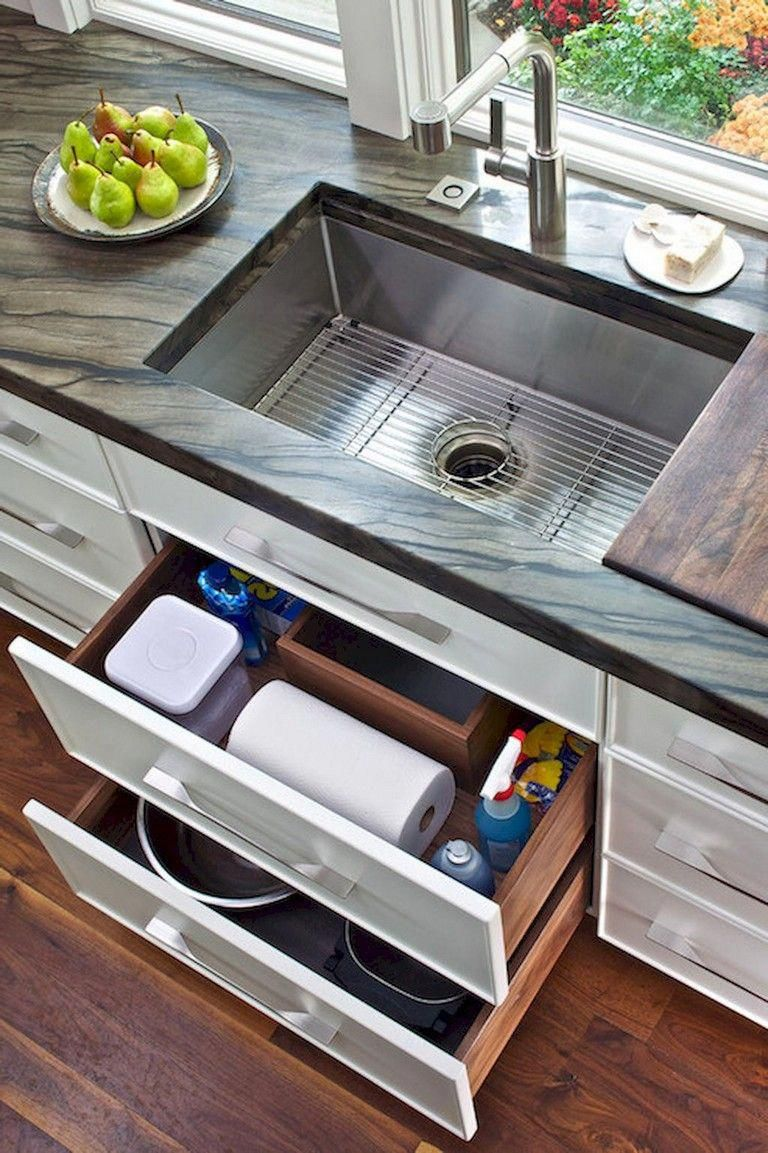 72+ Small Kitchen Sink Decor Ideas and Remodel # ...