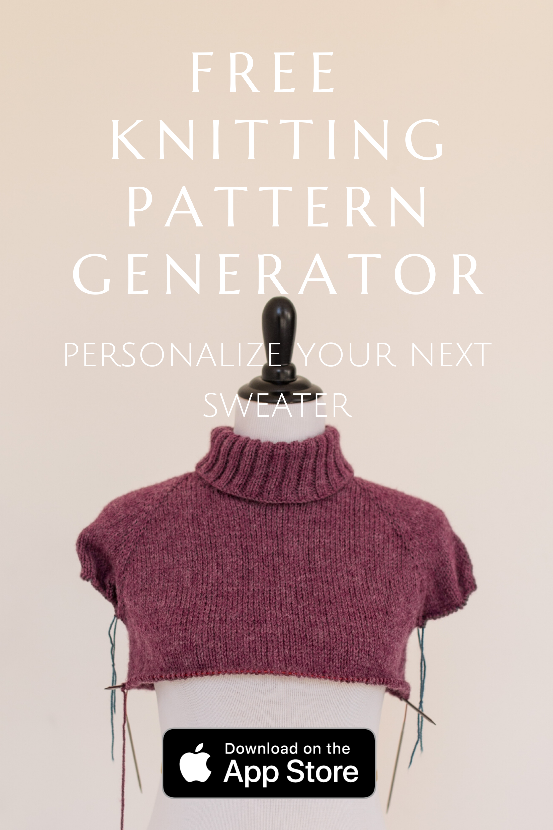 Personalize Your Next Sweater With The Free Knitting Pattern