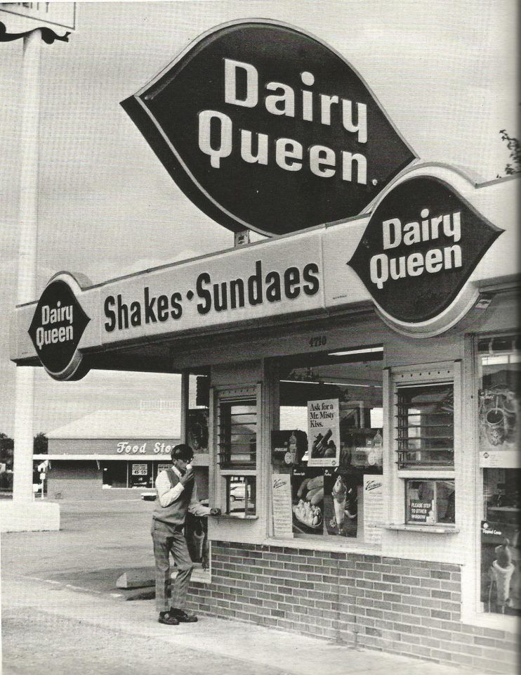 Dairy queen on dixie highway in 1970 fast food