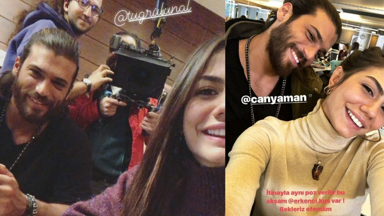 Latest Clicks Of can yaman and demet ozdemir | Turkish