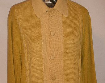 """SUMMER CLEARANCE SALE 60s Vintage Rat Pack Man Mens Pullover Sweater-Hipster-Frank Sinatra--44"""" Chest-Large-Italian Knit"""