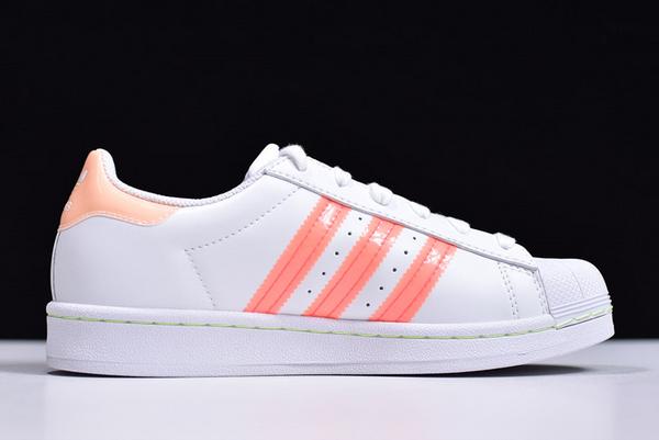 Ladies adidas Originals Superstar White
