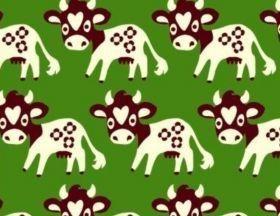 Koe Groen - Elastisch - Stoffen