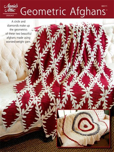 Crochet - Afghan & Throw Patterns - Assorted Patterns - Geometric ...