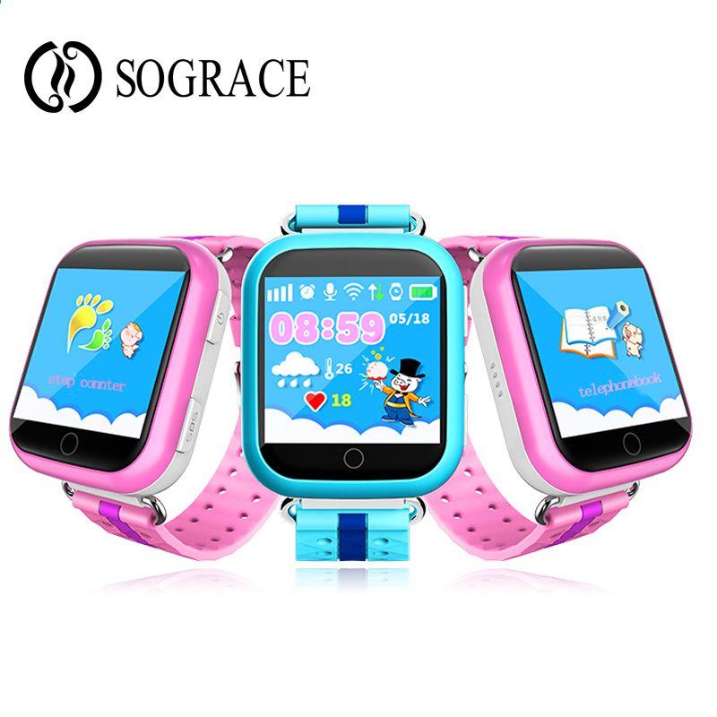 2018 Kids Smart Watch Q750 Q100 Zegarek Telefon Baby GPS