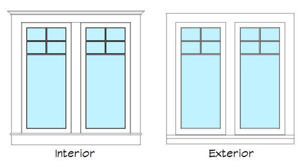Object craftsman double casement window for Double casement windows