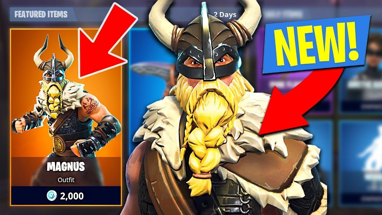 new fortnite season 5 legendary magnus skin and viking axe fortnite battle royale - magnus fortnite