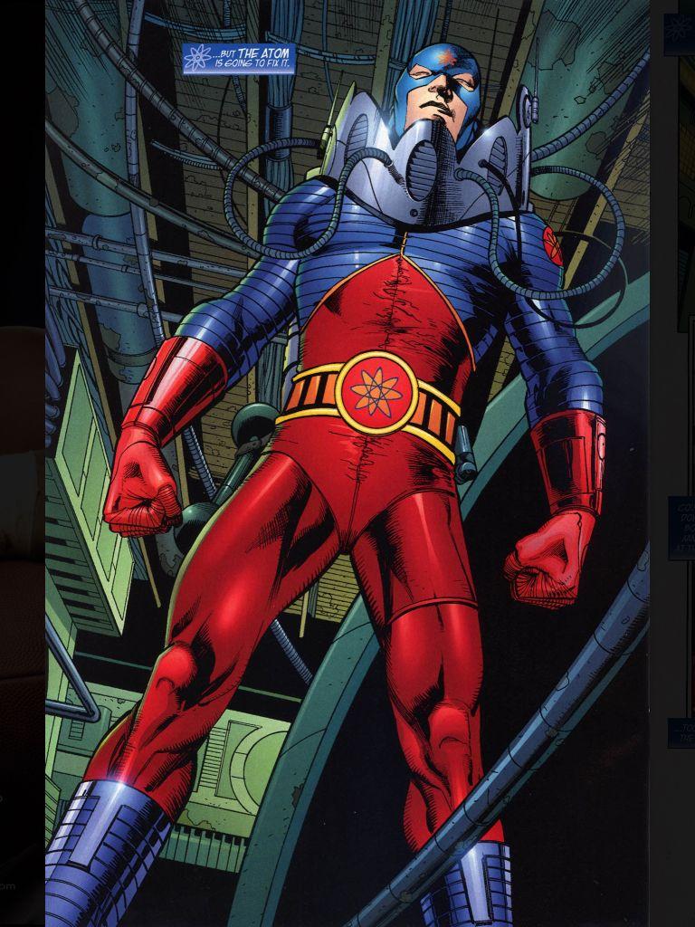 The Atom Atom Comics Superhero Groups Comic Heroes