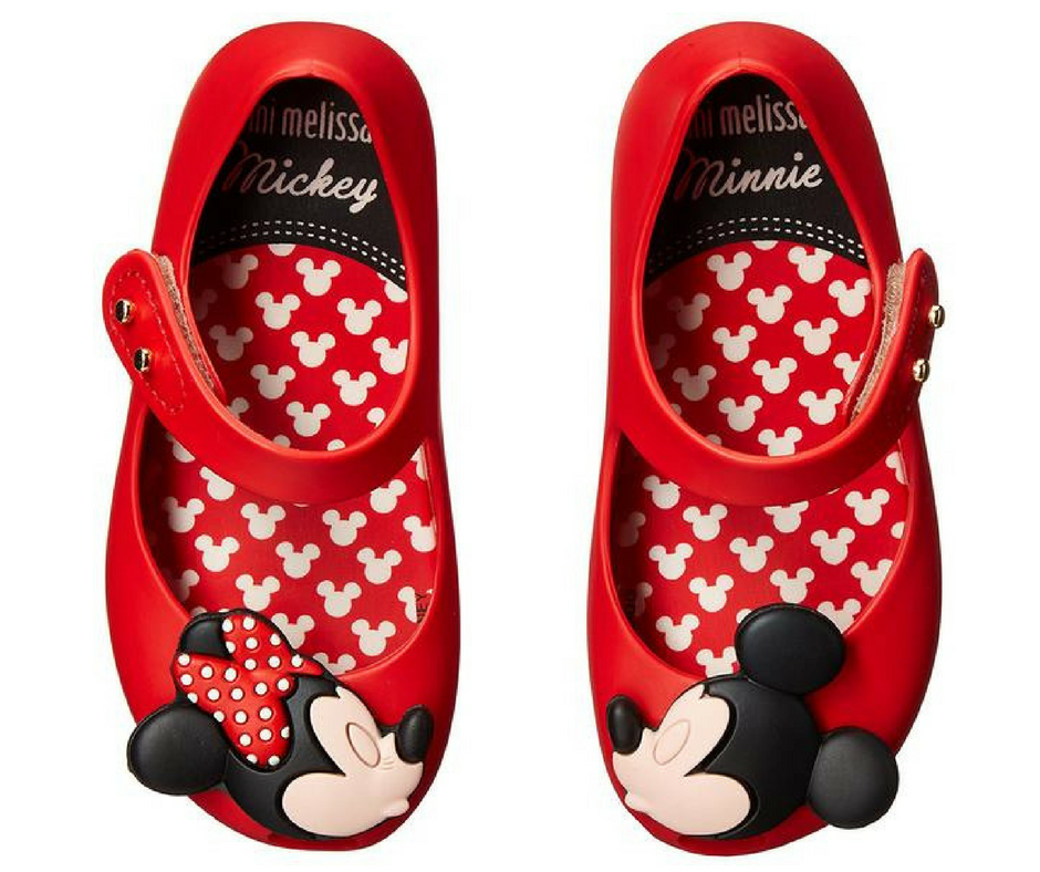 Mini Melissa Ultragirl Disney Twins BB Mary Jane Shoe