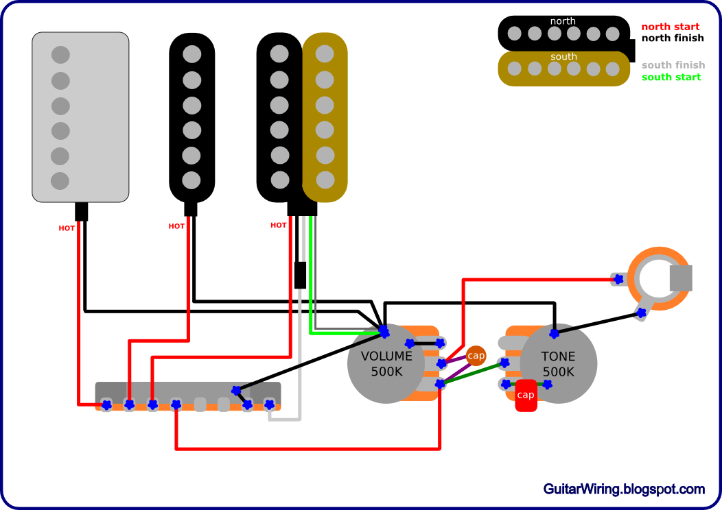 Guitar Hero Wiring Diagram : The guitar wiring diagrams and tips january