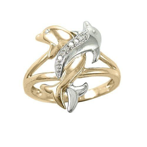 Cute dolphin ring wonder if I could customize by intertwining a