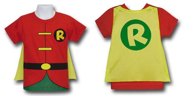 Robin Superhero Shirt