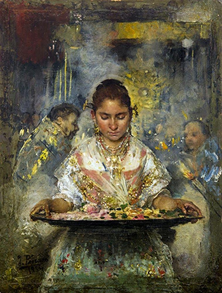 Ignacio Pinazo Camarlench Artwork painting, Spanish