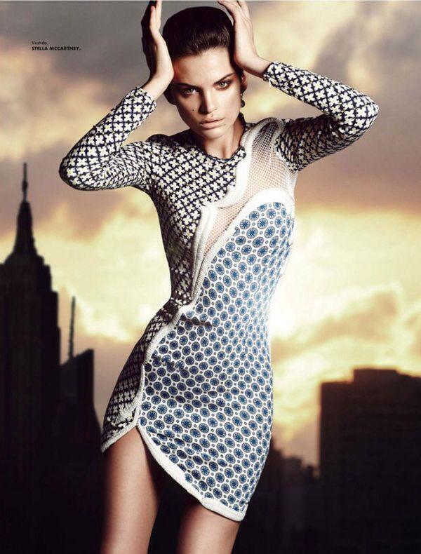 Designer Stella McCartney Dress  Featured in Vogue Mexique