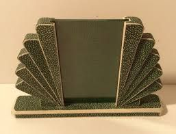 Art Deco Shagreen Accessory