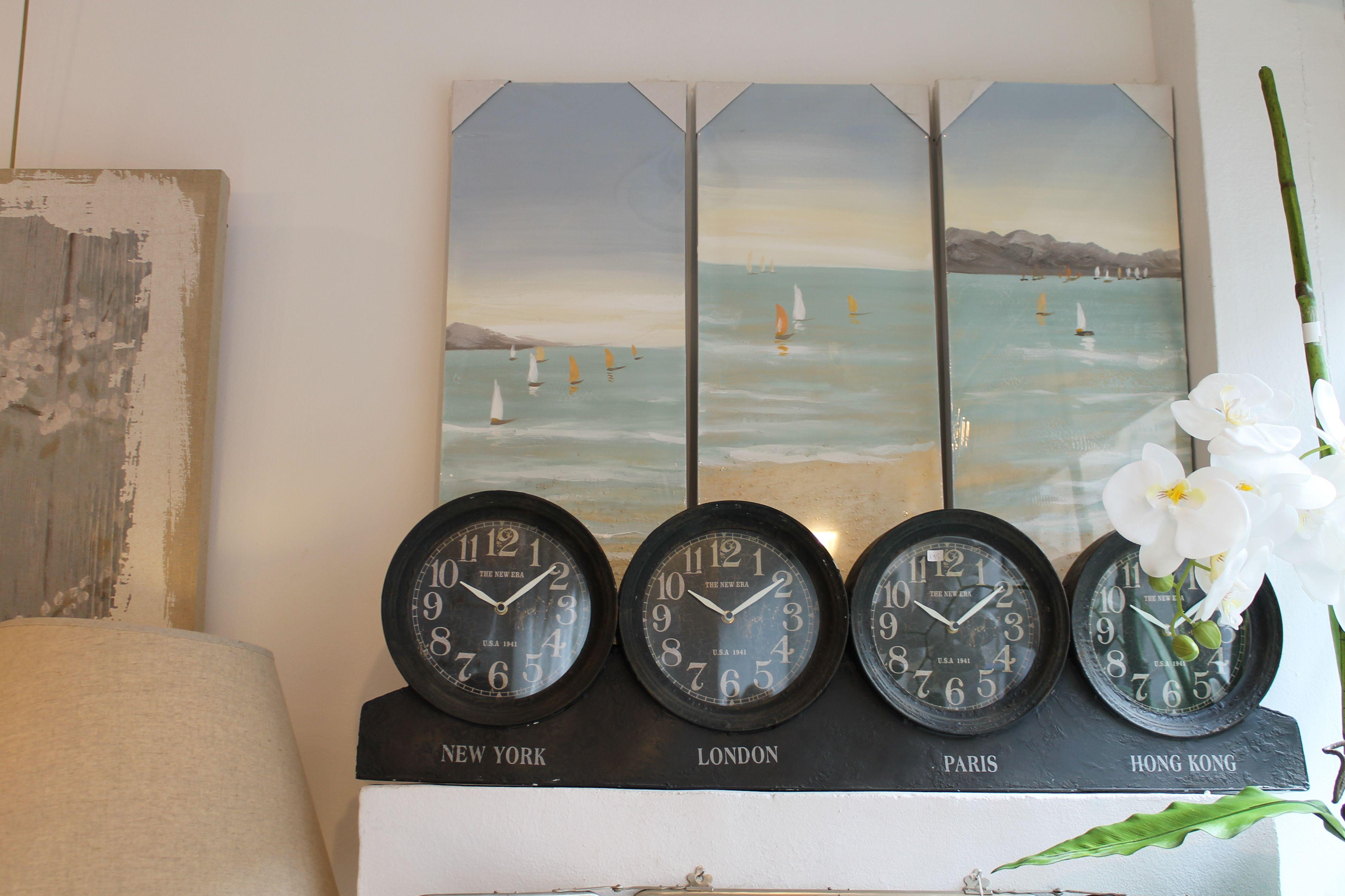 """cuadro """"la mer"""" sofá chaise longue #decoración #interiorismo #cuadro"""
