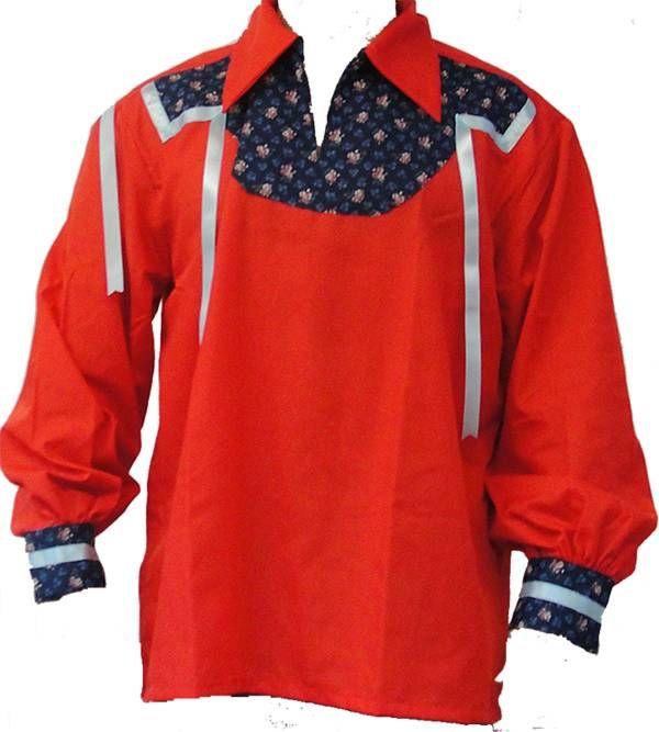Native american dress regalia aboriginal clothing red ribbon work also pin by becky bowen on shirt rh pinterest