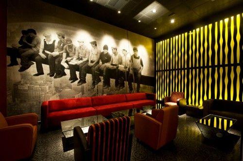 Galería de Pub Art Deco Lounge / Seinfeld Arquitectos   1
