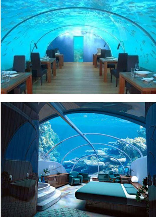 Under Water Hotel Fiji Poseidon Undersea Resort With Images