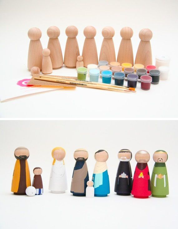 Diy nativity scene httpetsysb1ygb tis the season diy nativity scene simple features idea not a tutorial solutioingenieria Gallery