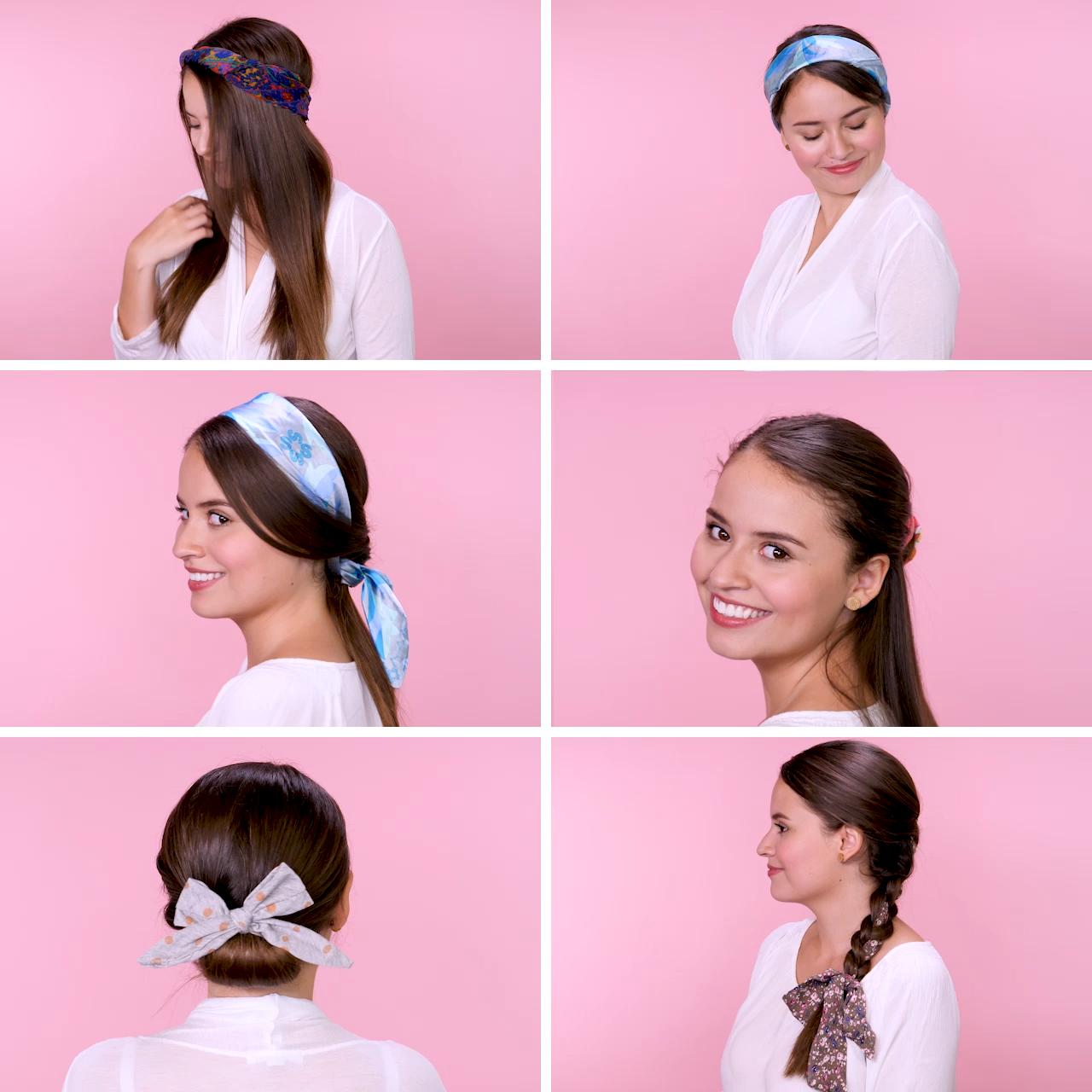 9 Maneras de usar una mascada