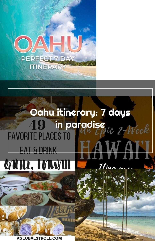 Check Out Our Complete Oahu Itinerary For 7 Days Honolulu Waikiki North Shore Windward Coast And More Includes An Optio In 2020 Oahu Honolulu Waikiki Oahu Hawaii