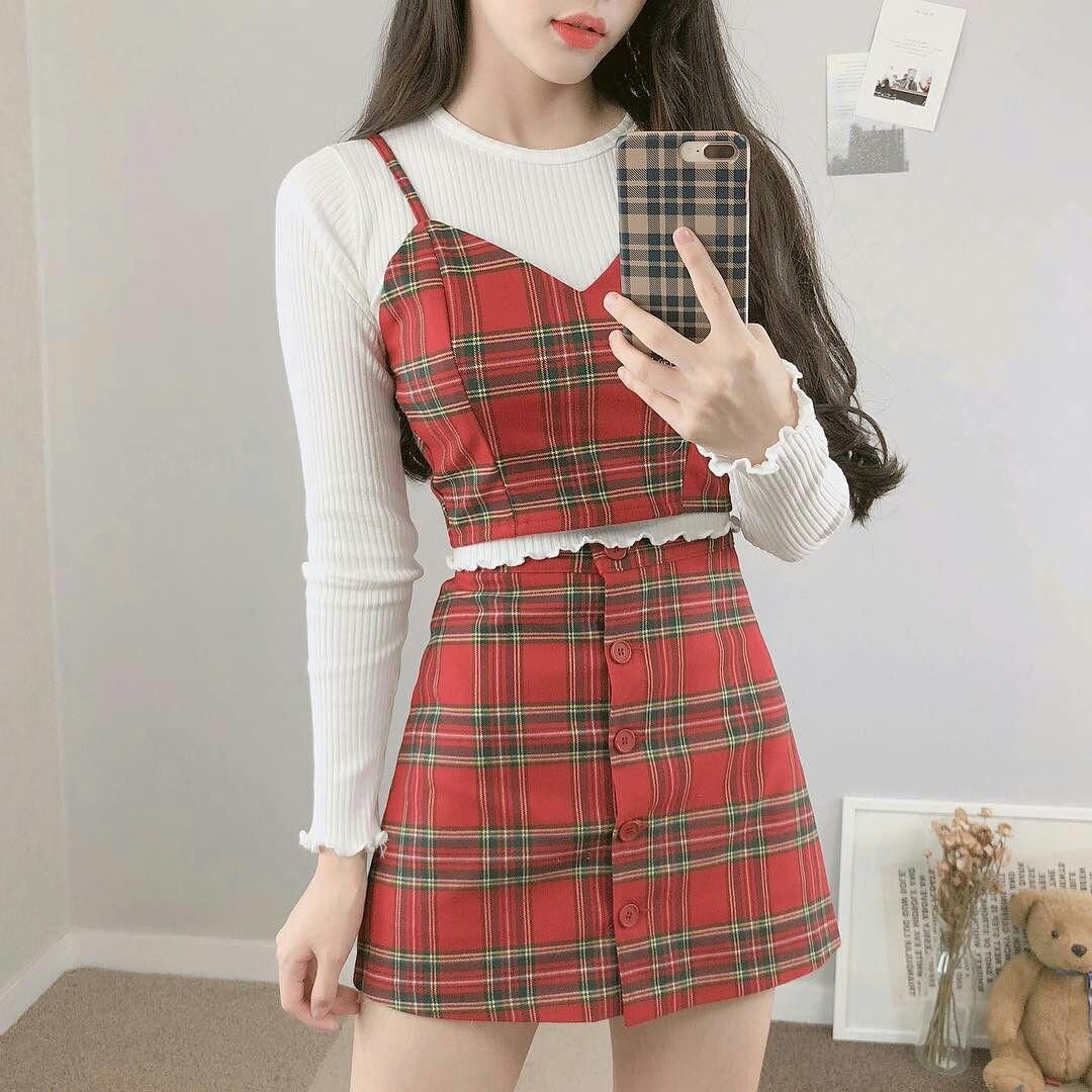 Ideas on spring korean fashion 6 #springkoreanfashion  Korean
