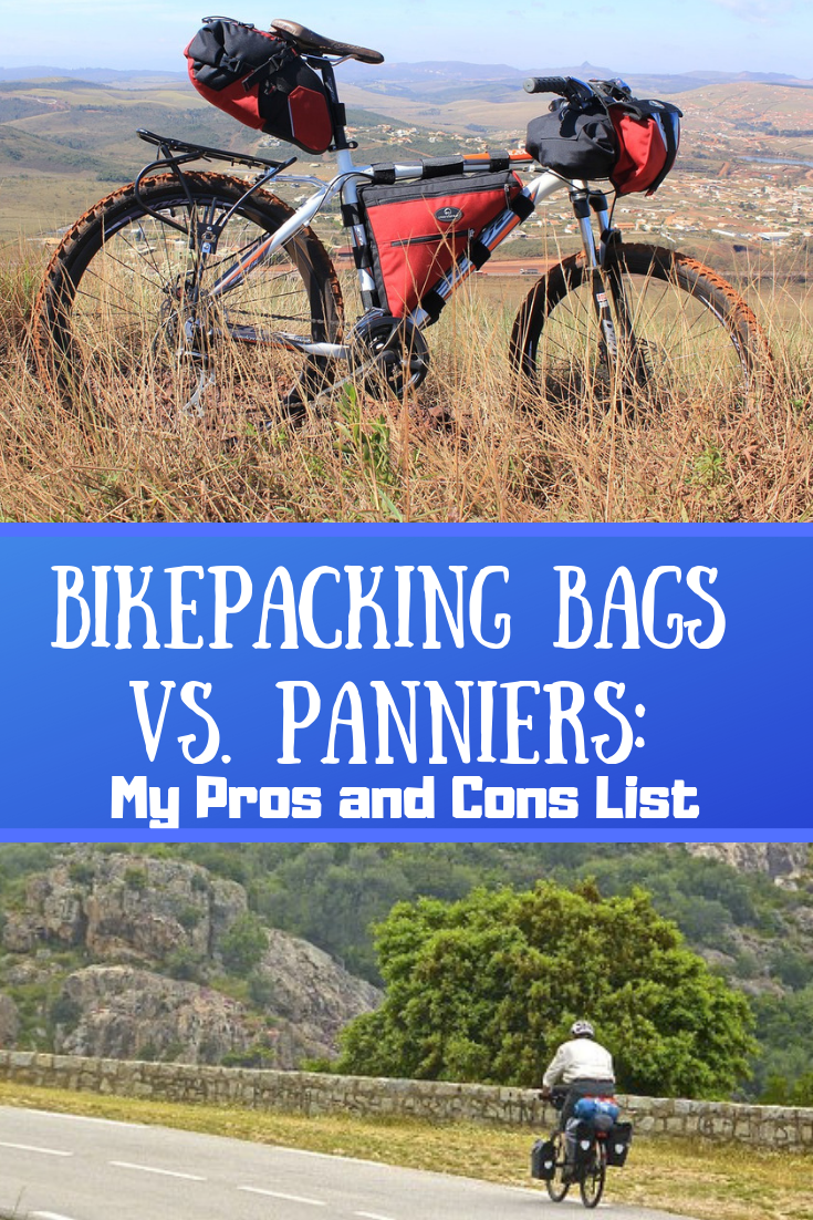 Bikepacking Bags Vs Panniers My Pros And Cons List Bikepacking