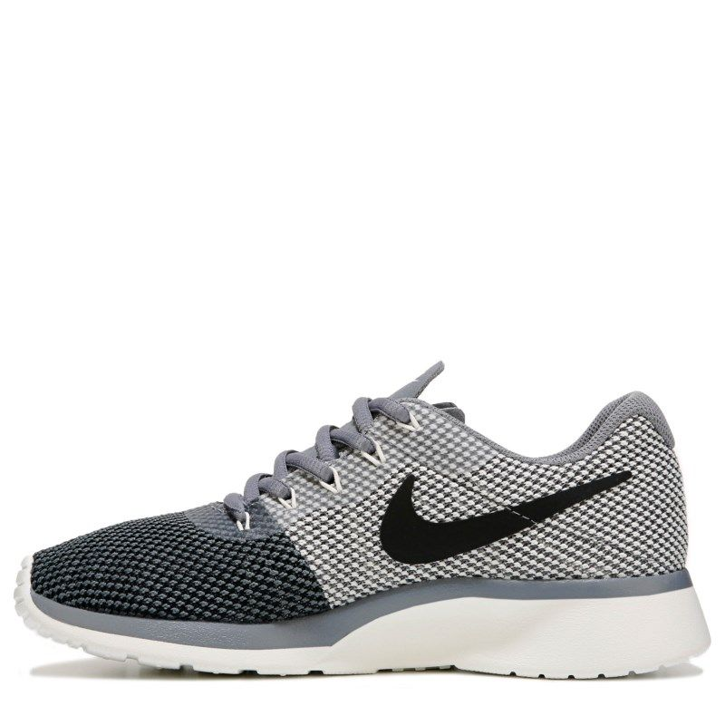 Nike Women's Tanjun Racer Sneakers (Grey/Sail)