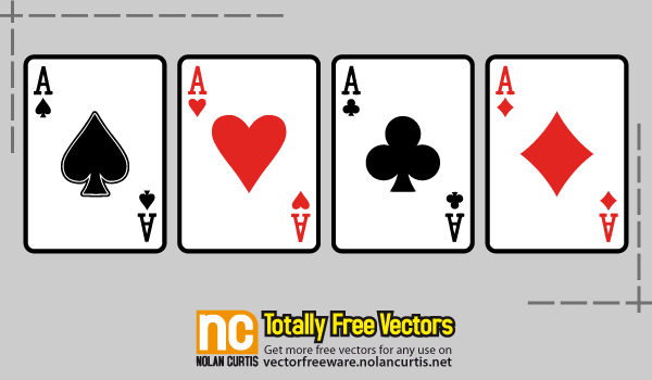Vector Playing Cards Download Free Vector Art Free Printable Card Templates Playing Cards Design Cards