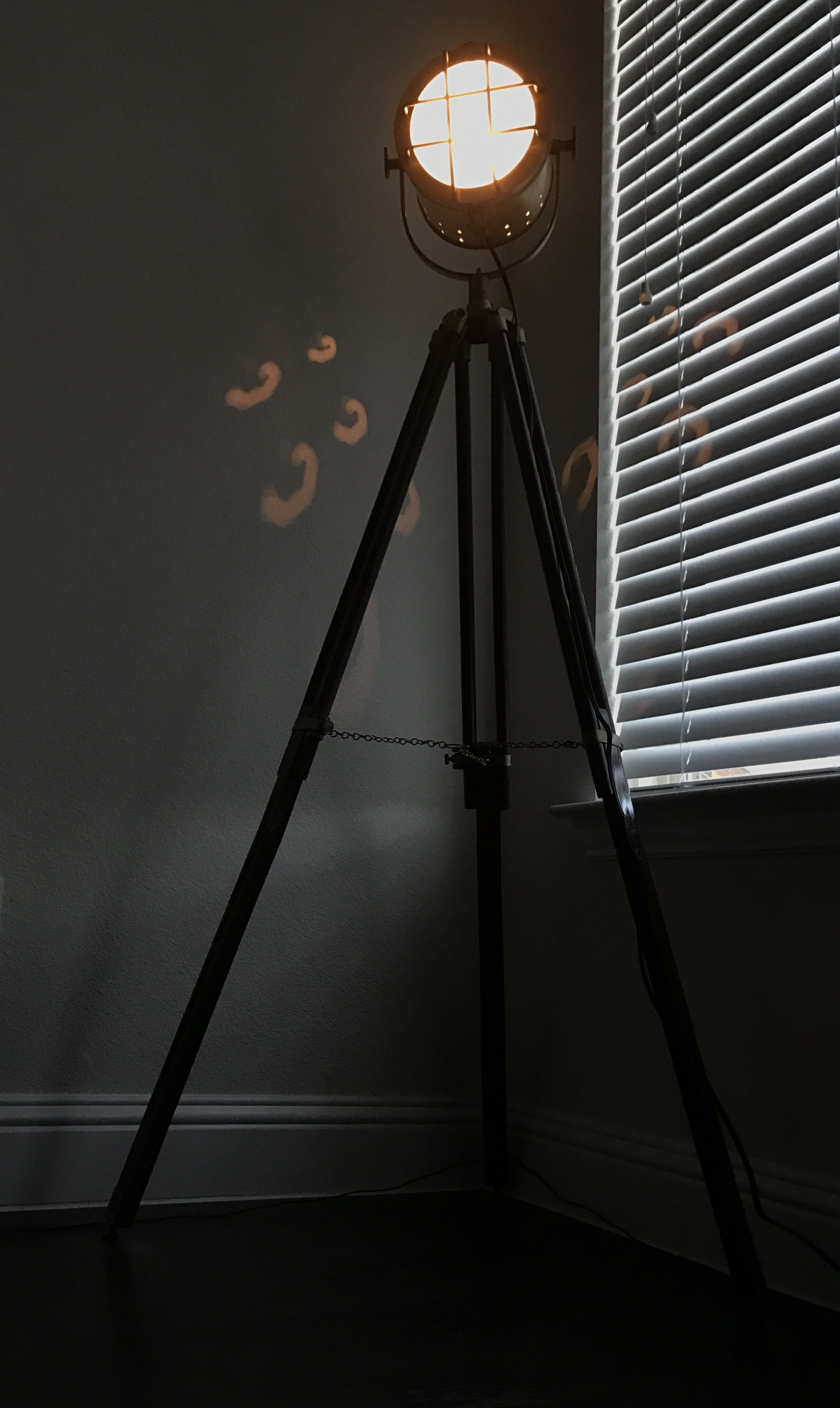 Studio lights in my living room!