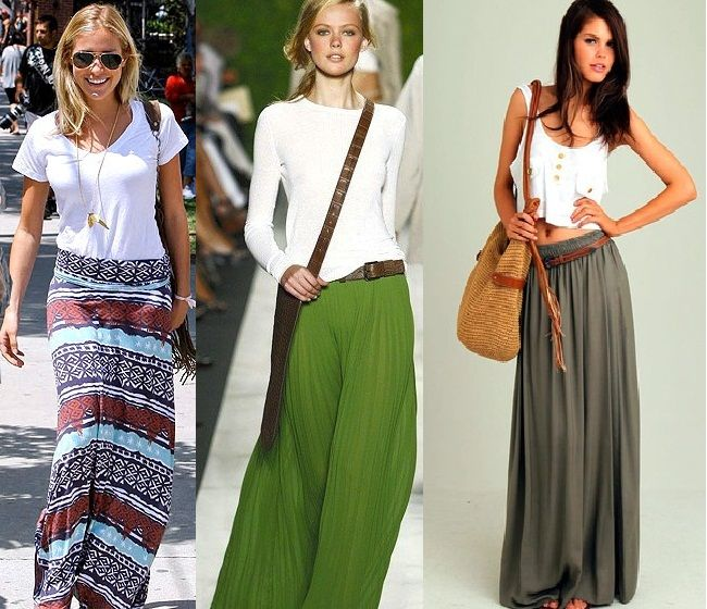 Pinterest Pics of the Week: Maxi Travel Skirts | Summer maxi ...