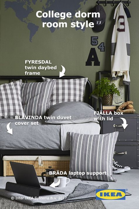 Ikea Dorm Room Ideas: From A Daybed For Napping To Sturdy Storage For A Small