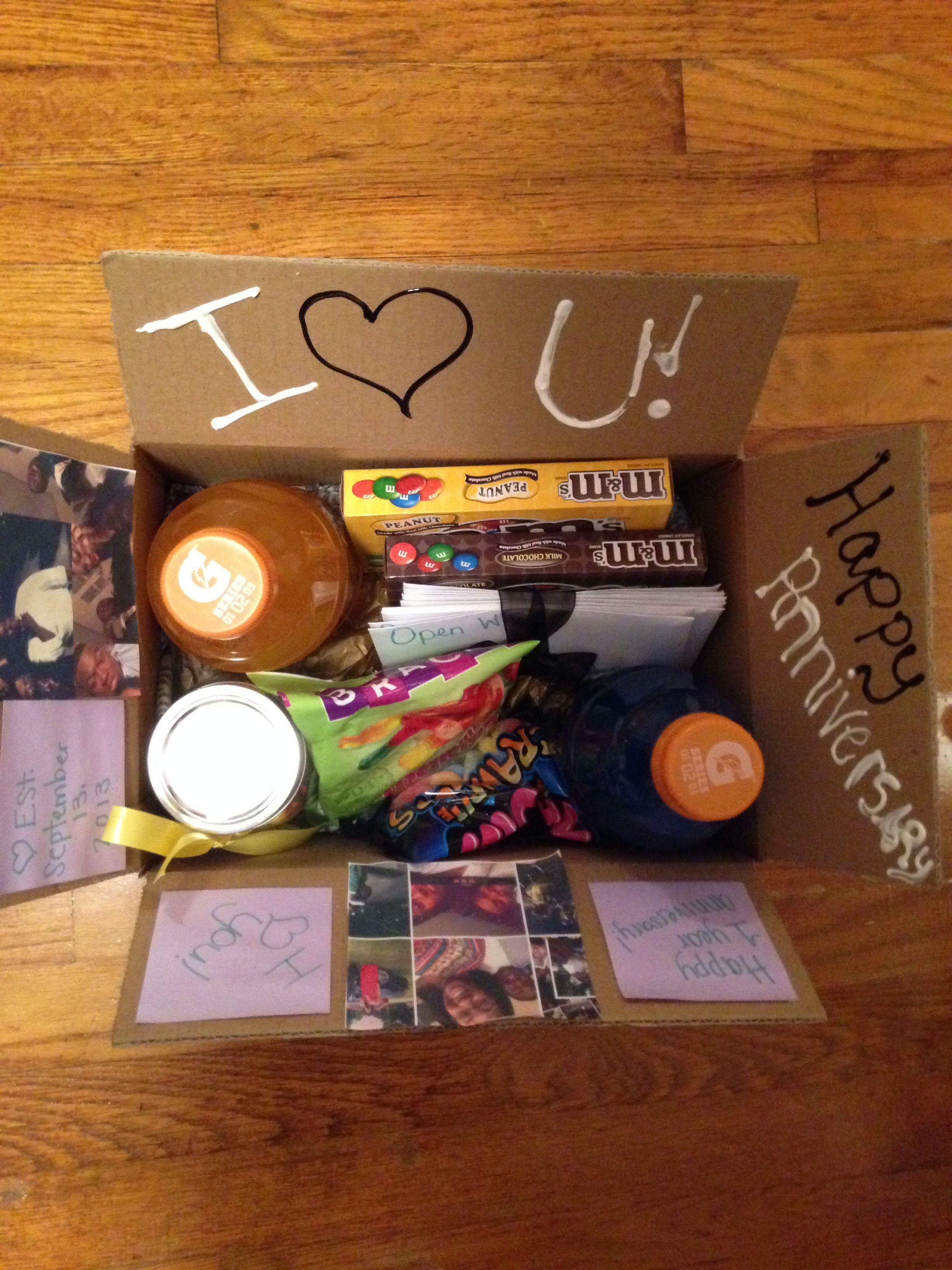 "Boyfriend Care Box with ""Open When"" letters Best"