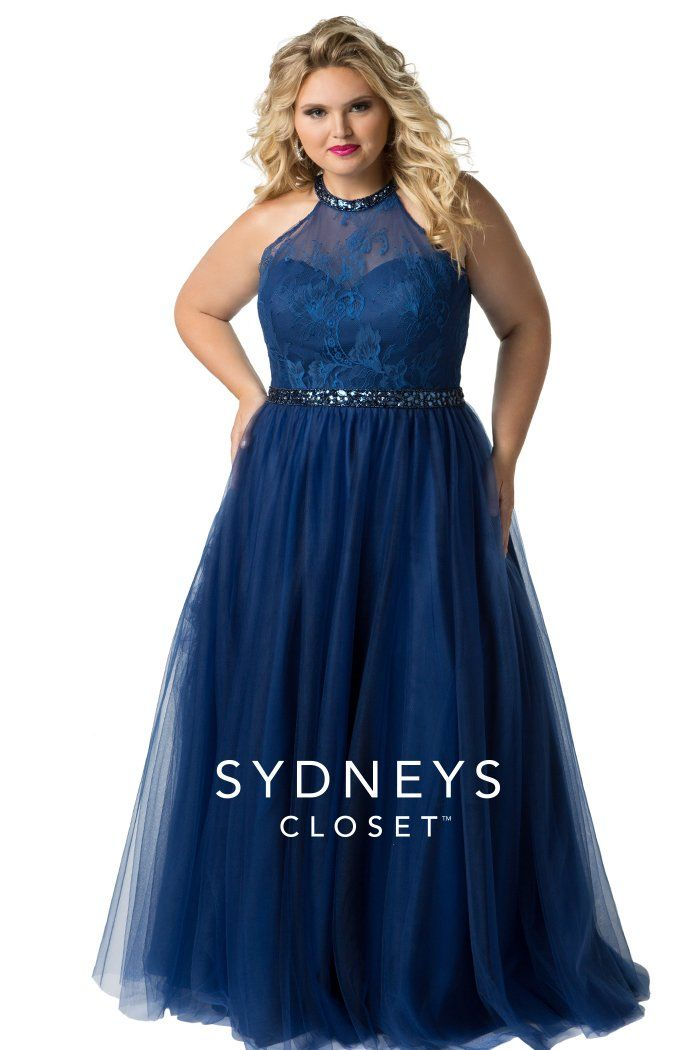 Sydney\'s Closet SC7247 in 2019 | Products | Plus size prom ...