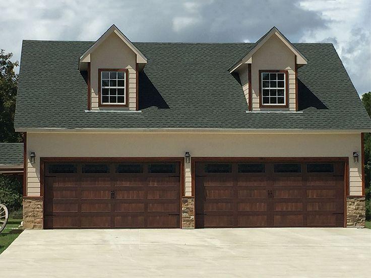 062G0011 4Car Garage with Loft Plan with Pool Bath