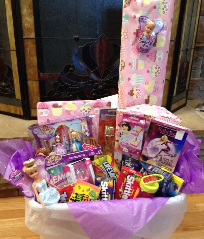 Birthday Gift Basket For A Five Year Old Girl