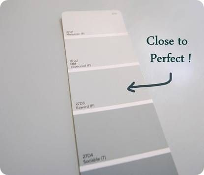 Reward Paint True Value. THE PERFECT GRAY BLUE.accented With Pinks Or Corals