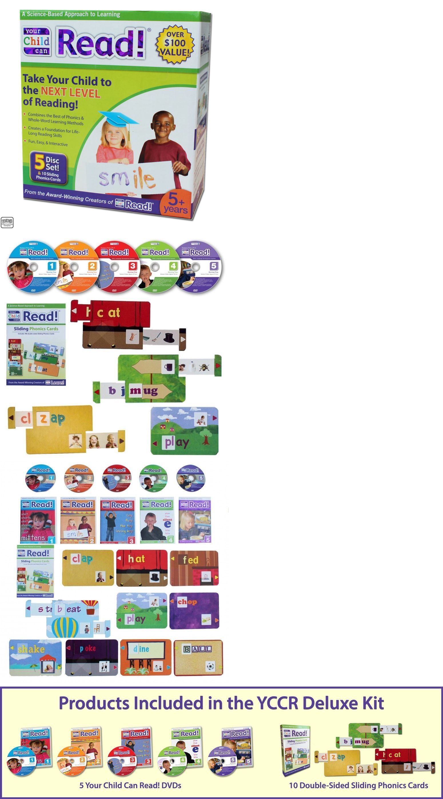 Details about Your Child Can Read! Deluxe Kit Kids