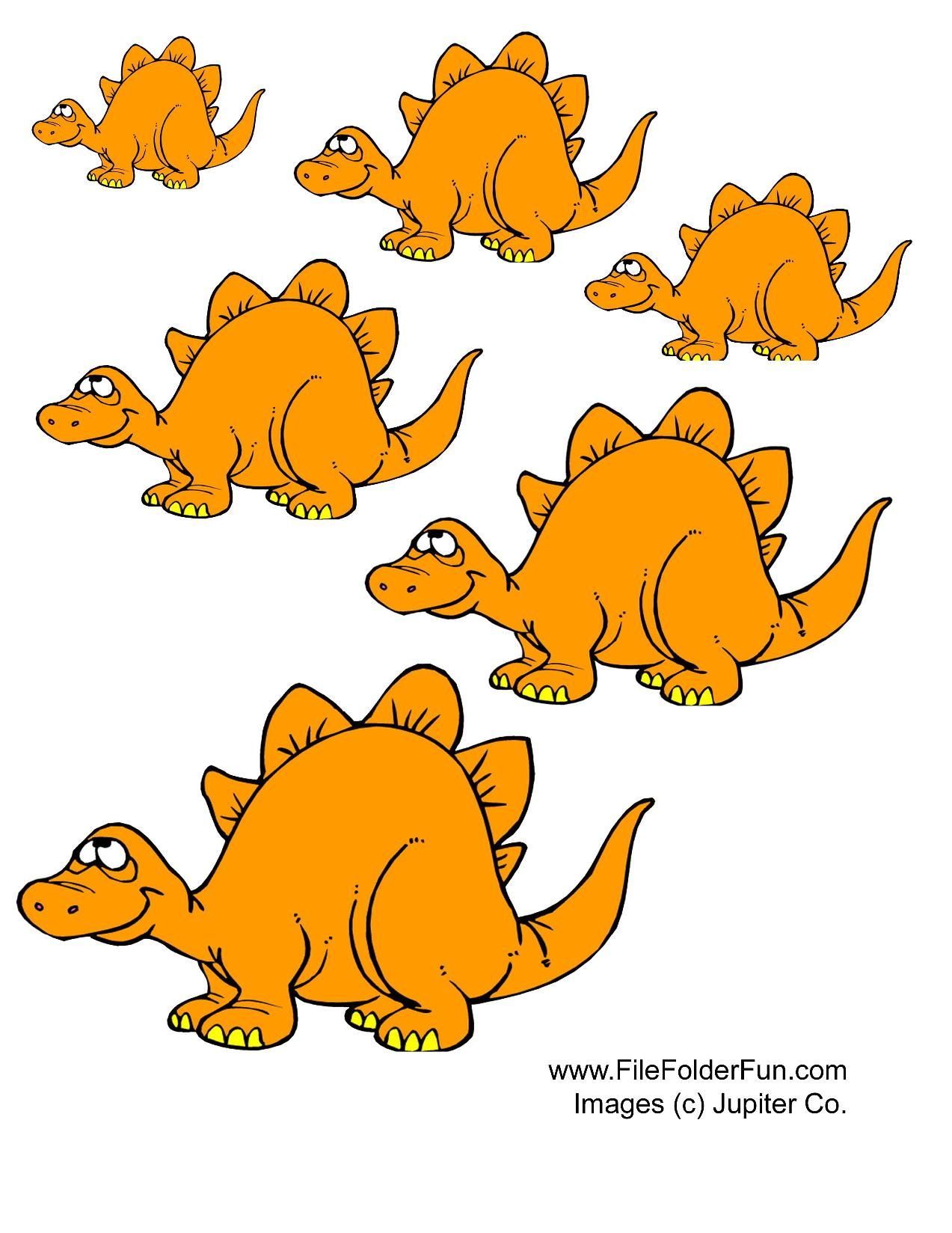 Dino Size It Game Have Your Child Put The Dinosaurs In Order According To Size Image Dinosaure Dinosaure Projets De Dinosaures