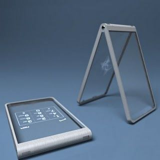 A glass phone!
