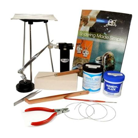 Silver Soldering Kit With Butane Torch Soldering Solar Power Diy Soldering Jewelry