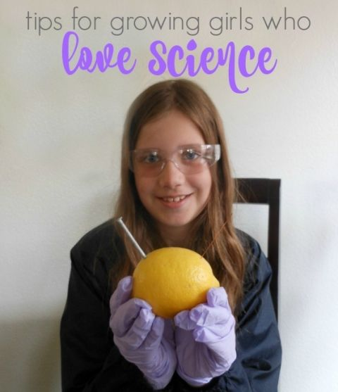 girls and science... how to inspire a lifelong love