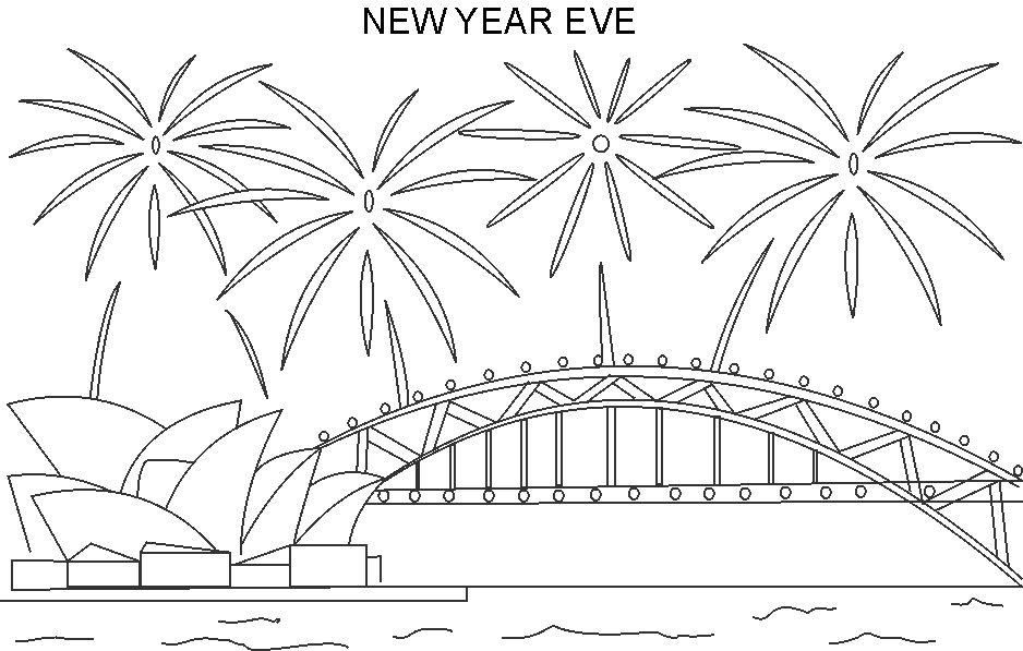 Printable New Years Coloring Pages 2019 Vaultradio Co