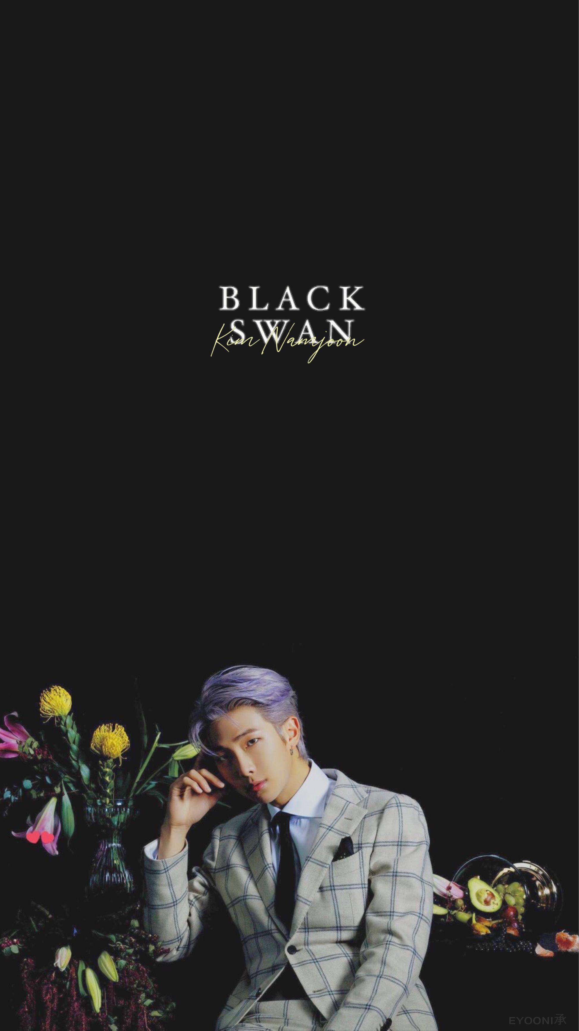 Black Swan Official Mv Photo Sketch Lockscreen Wallpapers Bts Wallpaper Bts Walpaper Bts Concept Photo