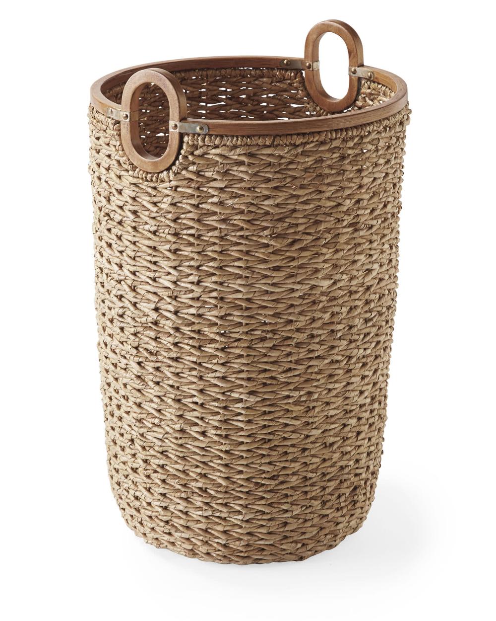 Seagrass Baskets Tall Laundry Basket Seagrass Basket Basket