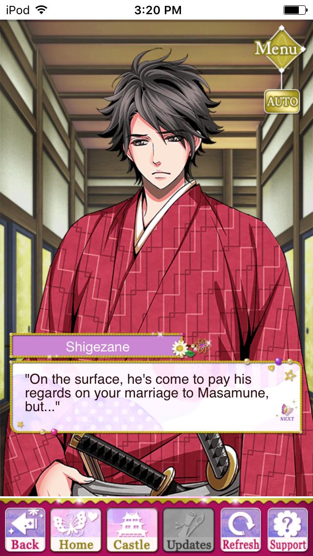 Masamune story eventAscension of Divine Bride