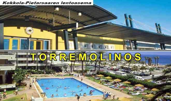 Kokkolasta Torremolinokseen