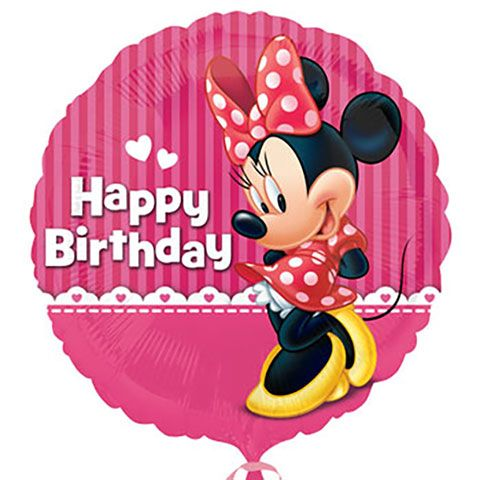 Caras Birthday Balloon From Mirai Image Result For Dollar Tree Minnie Mouse